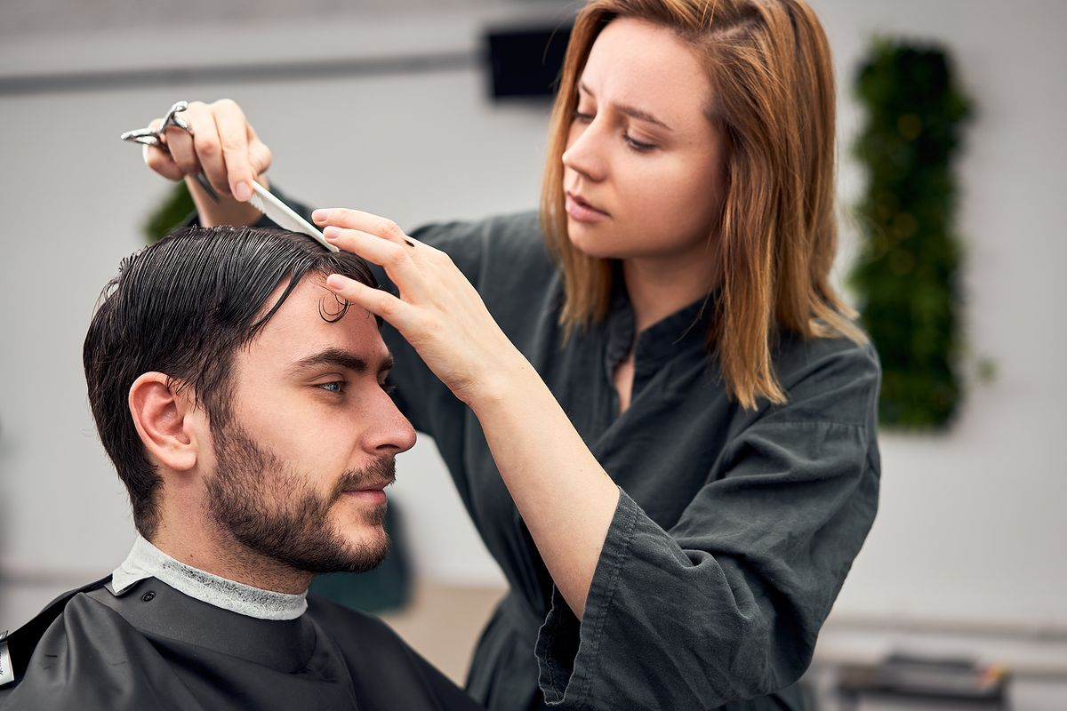 Barber Shop Salon Hairstylist Hairdresser Downtown Indianapolis